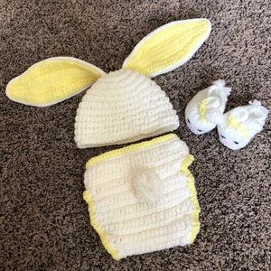 Handmade infant outfit